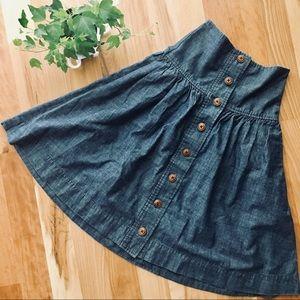 UO Chambray skirt + Pockets!